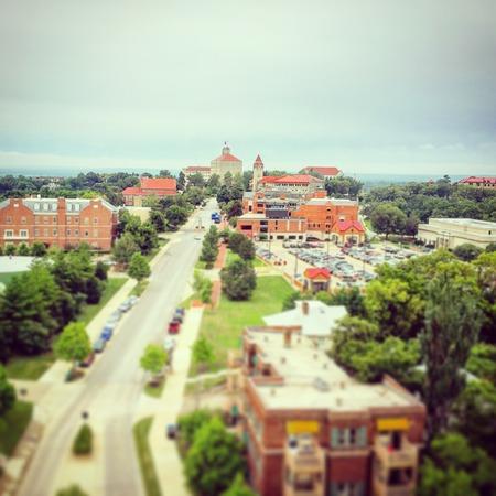 lawrence: University of Kansas Stock Photo