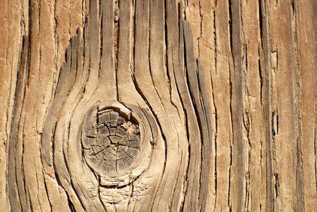 knothole: Grunge, Worn Wood Background With Knothole