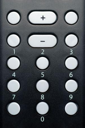 Generaic キーパッド、電子リモコン、ボタン 0 ~ 9、プラスとマイナスのキー