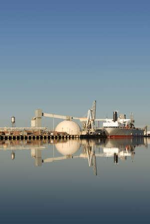 Seaport Reflection, Port of Stockton, California