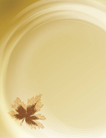 Soft fall background with room for copy space and bleed