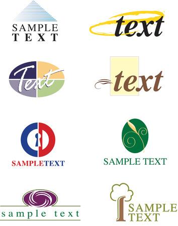 Generieke Design Elements 2 Stock Illustratie