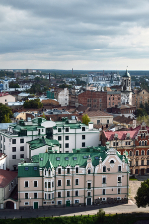 vyborg: Vyborg, northern of Russia, views of old town Stock Photo