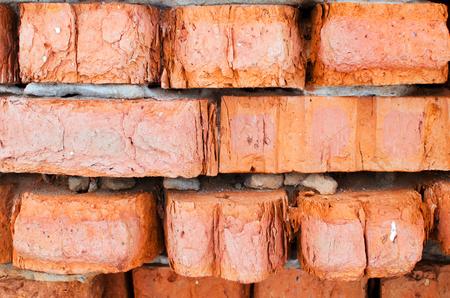 old crumbling brick walls