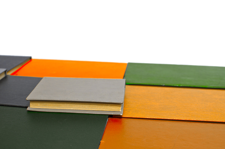 colored book cover