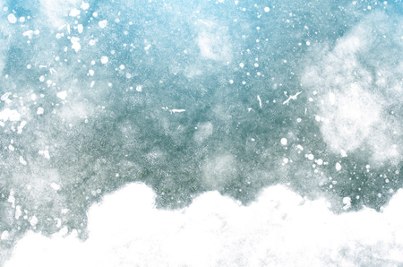 Christmas or new year abstract winter background