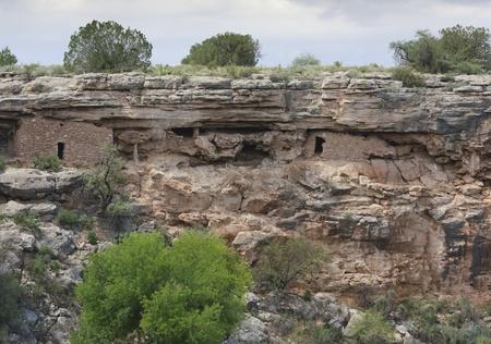 Ruins at Montezuma Well.