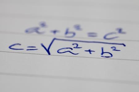 algebraic: Math Expression Pythagorean Theorem