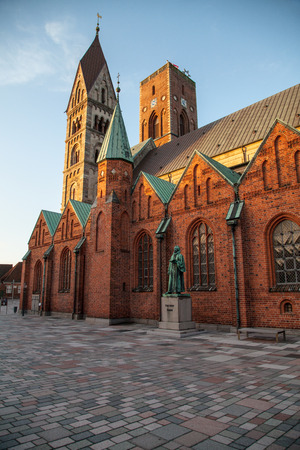 Ribe Cathedral in Denmark Editorial