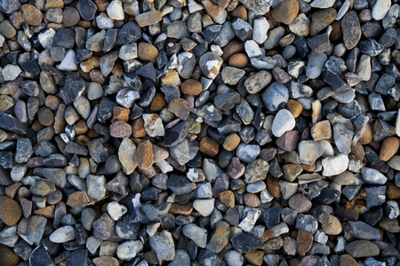 Diverse Gravel Background Backdrop Stock Photo