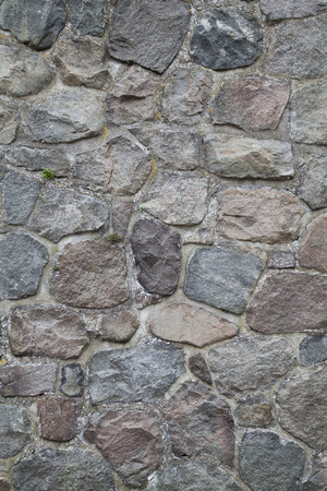 Old Traditional Stone Wall Background Texture