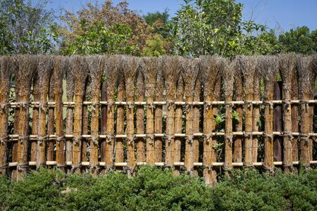 garden fence: Traditional japanese fence