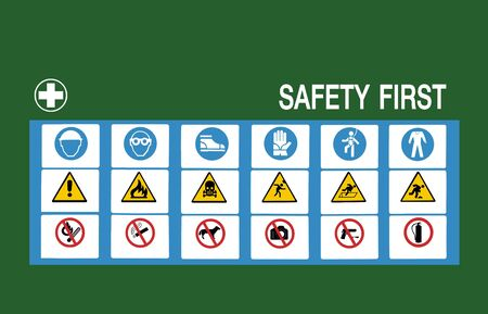 safety first symbol photo