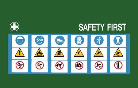 safety first symbol photo