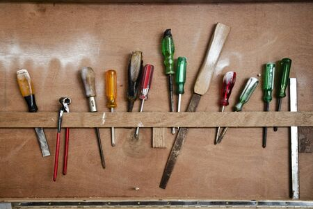 rasp: Screwdrivers of carpenter