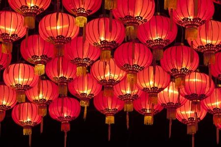 Chinese lantaarns Stockfoto