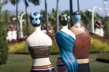 Thai traditional dress on manikin Stock Photo - 12682814