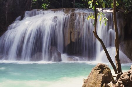 eravan: Erawan waterfall ,Thailand