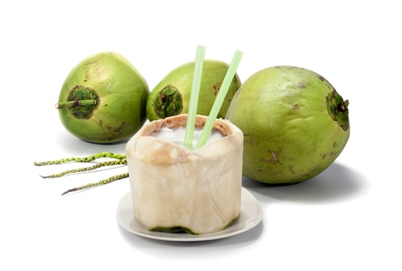 health drink: Fresh coconut
