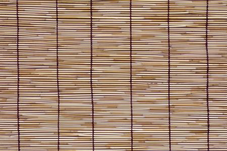 Rattan mat texture photo