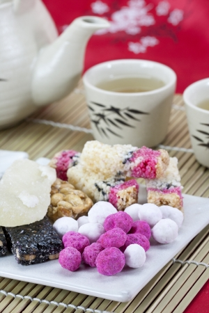 chinese traditional  snacks photo