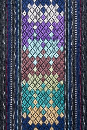 thailand silk: Ancient Pattern style Thai Cotton