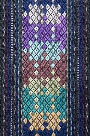 thai silk: Ancient Pattern style Thai Cotton