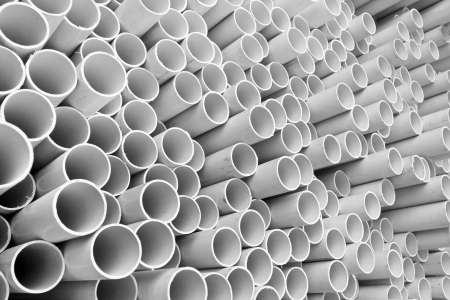 PVC pipes  photo