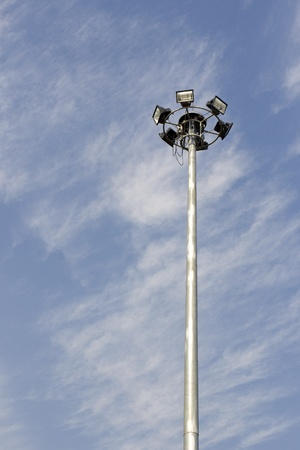 Spotlight tower  photo