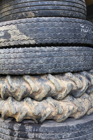 retreading: The old tires of truck and tractor