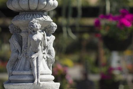statuary garden: garden Sculpture