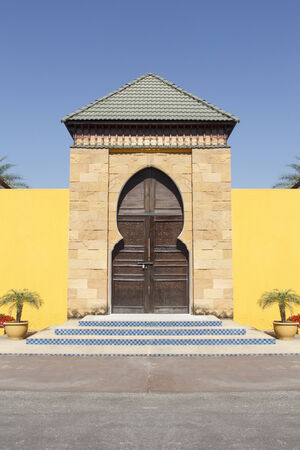 Moroccan architecture Stock Photo