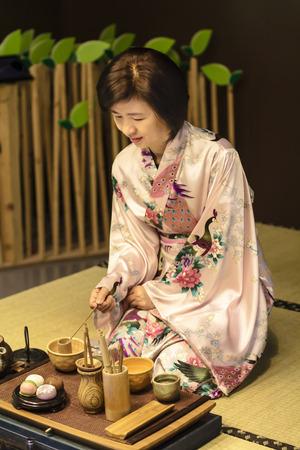 Japanese traditional tea ceremony