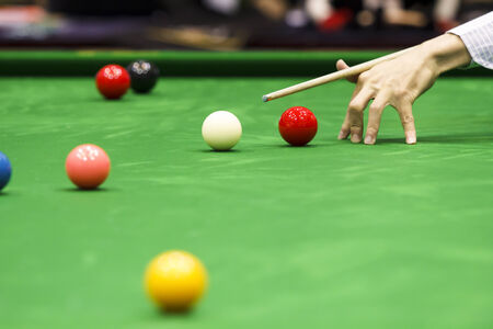 Ball and Snooker Player photo