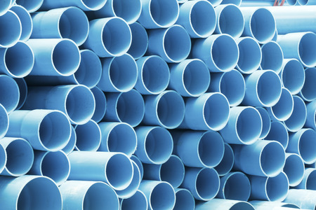 PVC pipes for drinking water.
