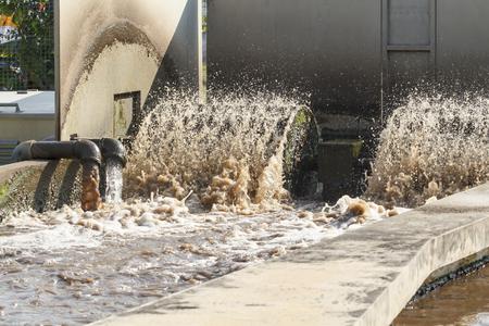 sewage treatment plant: Waste water treatment plant.