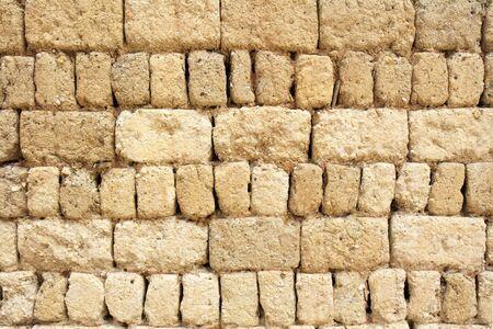 earthen: Muro di terra di antica casa cinese, la Cina