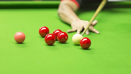 aim: Ball and Snooker Player