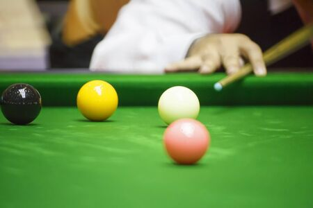 snooker: Ball and Snooker Player