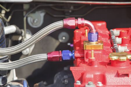 car engine: Diesel racing car engine