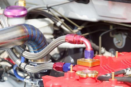 quater: Diesel racing car engine