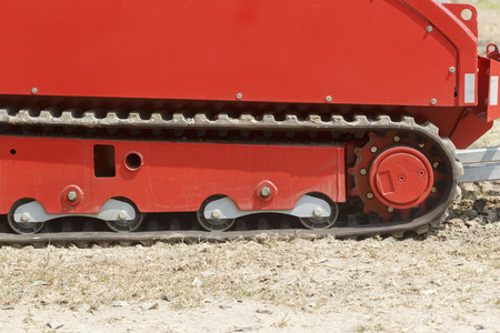 industrially: Tracked fire fighting vehicle