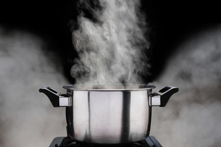 stoom over kookpot