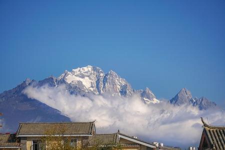 Jade Dragon Snow Mountain, Lijiang,Yunnan China.