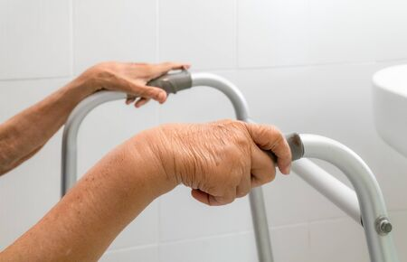Elderly swollen arm or edema arm