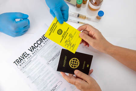 Get international certificate of the vaccination before travel