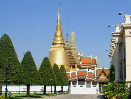 The Grand Palace, Bangkok, Thailand. Stock Photo