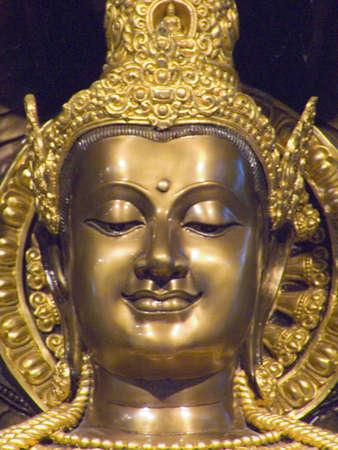 Buddha in Thailand Bangkok Wat pratoum photo