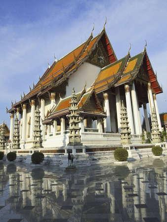 Wat Sutas Buddha at Bangkok, Thailand