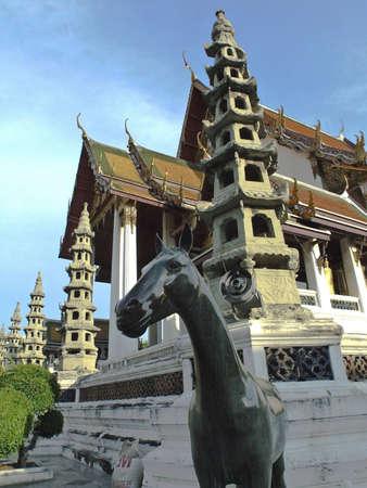 Wat Sutas at Bangkok, Thailand